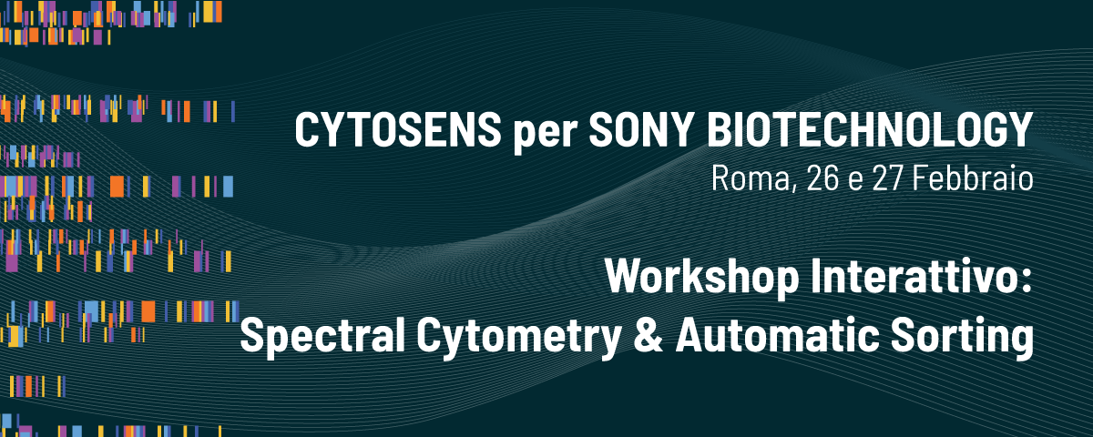 Workshop Interattivo: Spectral Cytometry & Automatic Sorting